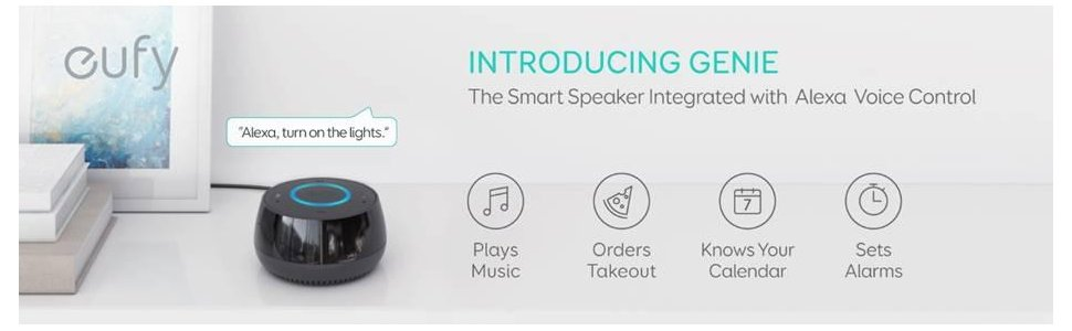 Eufy Genie AK-T1241211,bluetooth speakers ,wifi support
