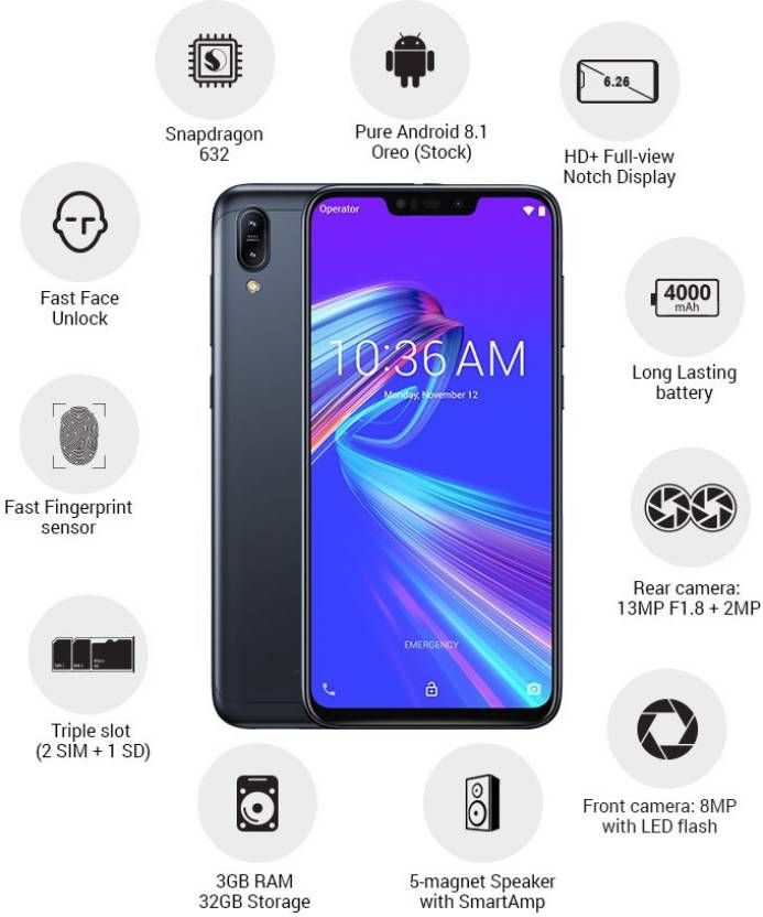 Asus Zenfone Max2, Best Phone  3GB/32GB