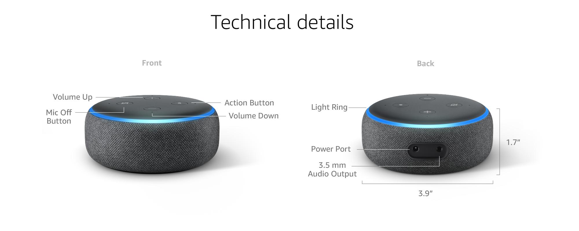 amazon echo dot, bluetooth speaker