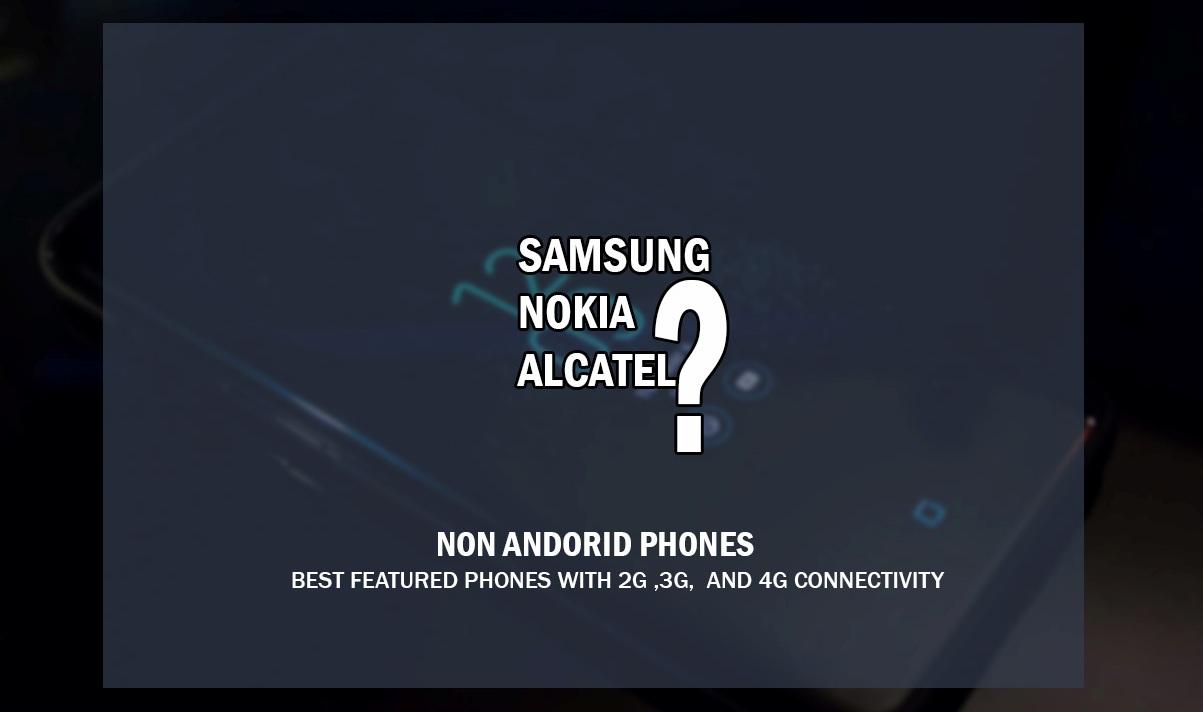 best non Andorid phones
