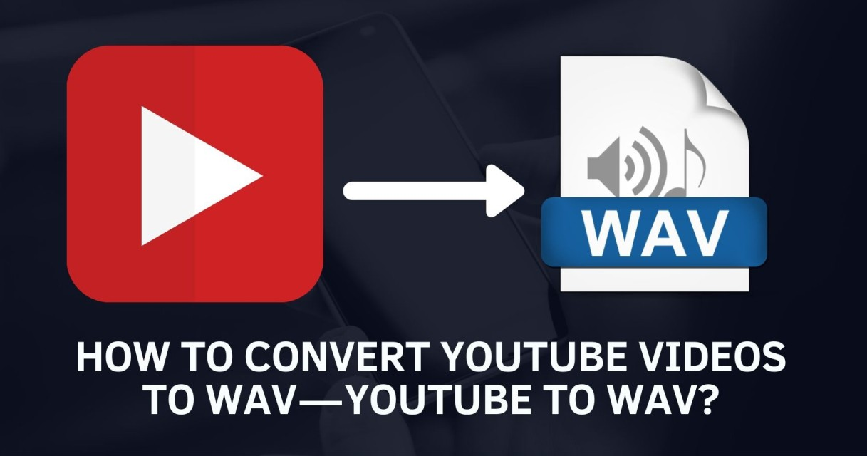 YouTube to WAV music format