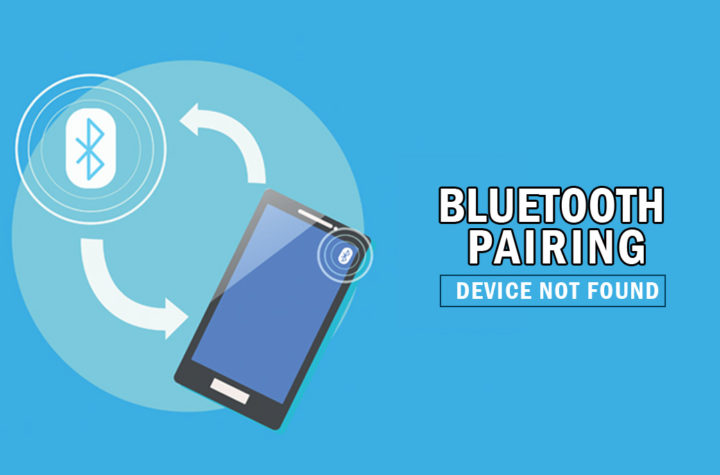 bluetooth pairing - device not found