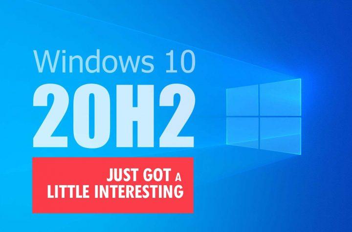 Windows 10 version 20H2