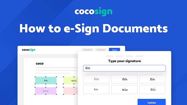 coco e-sign